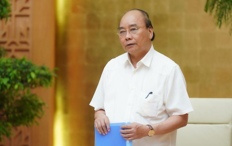 Thủ tướng Nguyễn Xuân Phúc: Xác lập tình trạng bình thường mới trong cuộc sống và các hoạt động kinh tế-xã hội. Ảnh: VGP/Quang Hiếu