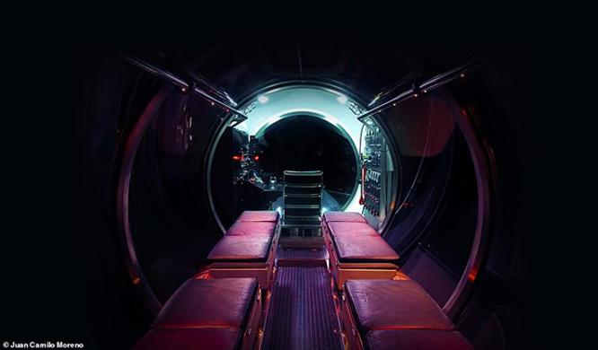Tàu ngầm được chế tạo bởi Triton Submarines, công ty đã sản xuất Limiting Factor - con tàu đã xác lập kỷ lục khi lặn tới điểm sâu nhất dưới đáy biển - khe nứt Mariana.