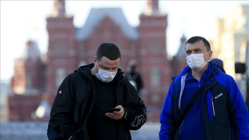 Số ca mắc Coid-19 ở Nga đã bắt đầu tăng mạnh trong tháng 4. (Nguồn: AA)