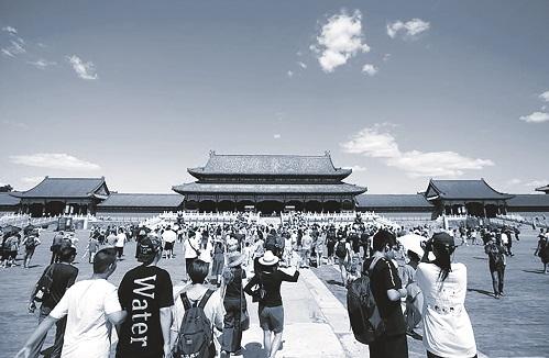 Tử Cấm Thành ở Bắc Kinh (Trung Quốc) thu hút hơn 4 triệu lượt khách