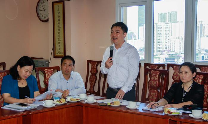 Các đại biểu phát biểu tại buổi hội thảo
