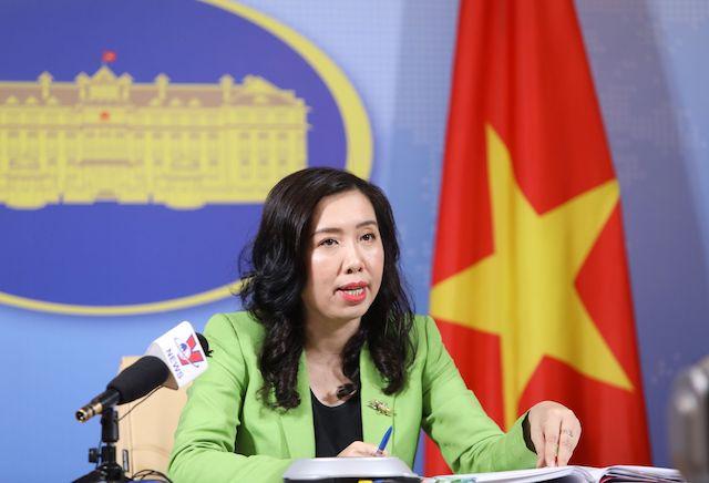 Người phát ngôn Bộ Ngoại giao Lê Thị Thu Hằng: Việt Nam đang làm tốt vai trò trong năm Chủ tịch ASEAN.