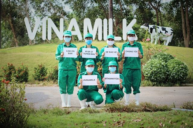 Không chỉ nhiệt huyết trong công việc, những nhân viên trẻ của Vinamilk là hạt nhân tích cực trong những hoạt động vì cộng động, đặc biệt trong dịch bệnh Covid-19 vừa qua.