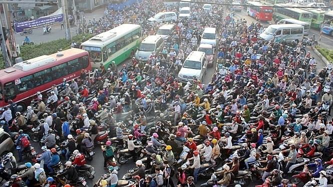 Mức độ ô nhiễm không khí tại thành phố Hồ Chí Minh đang có xu hướng gia tăng