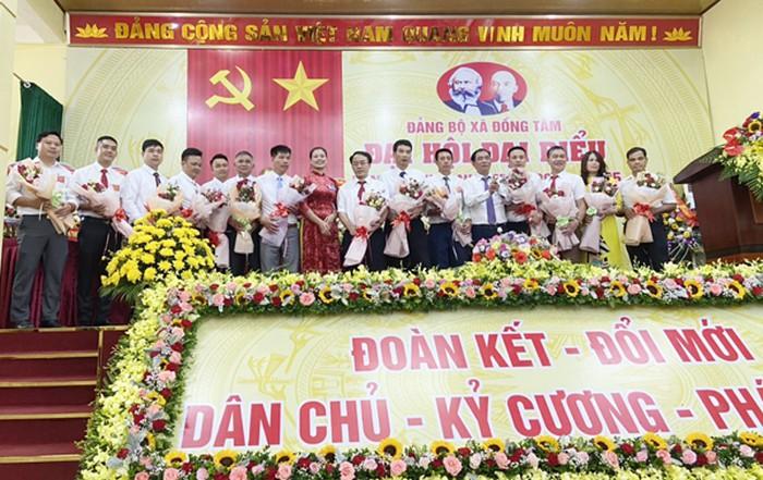 Ban chấp hành Đảng bộ xã Đồng Tâm nhiệm kỳ 2020-2025 có 14 đồng chí
