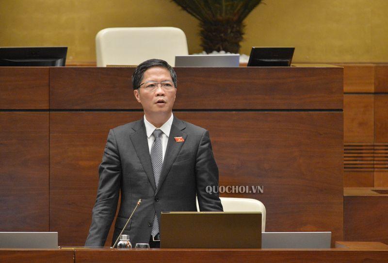 Bộ trưởng Bộ Công thương giải trình một số nội dung.