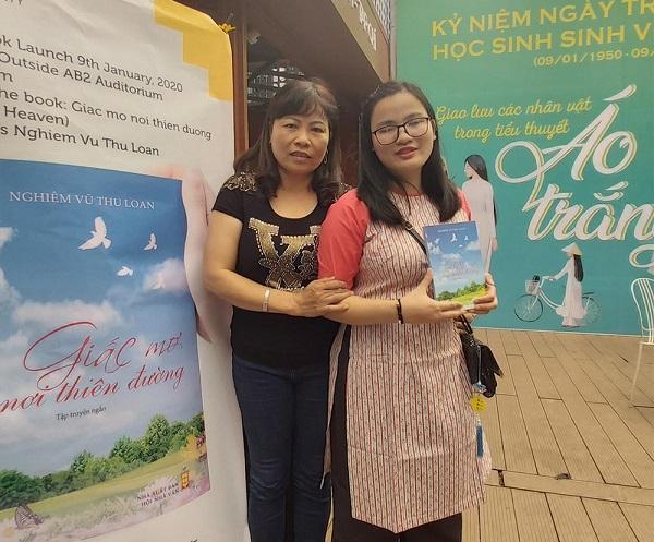 Nghiêm Vũ Thu Loan và mẹ, cô Vũ Thị Hương