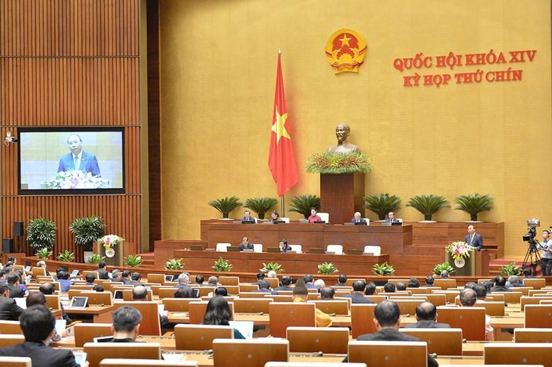Phiên khai mạc kỳ họp thứ 9, Quốc hội khóa XIV sáng 20/5 được tổ chức theo hình thức trực tuyến với 63 tỉnh thành trên cả nước.
