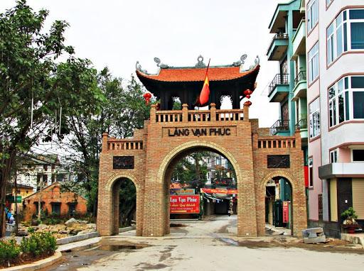 Làng lụa Vạn Phúc, quận Hà Đông