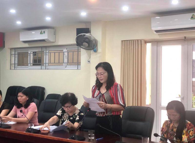 Bà Dương Xuân Hương, Chi hội trưởng Chi hội PN số 27, Hội LHPN phường Mai Dịch chia sẻ