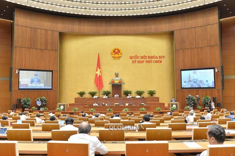 Quang cảnh kỳ họp thứ 9, Quốc hội khóa XIV.