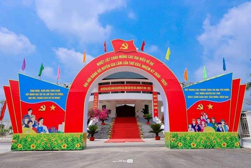 Đến thời điểm này,  toàn các công tác chuẩn bị Đại hội đã hoàn tất.