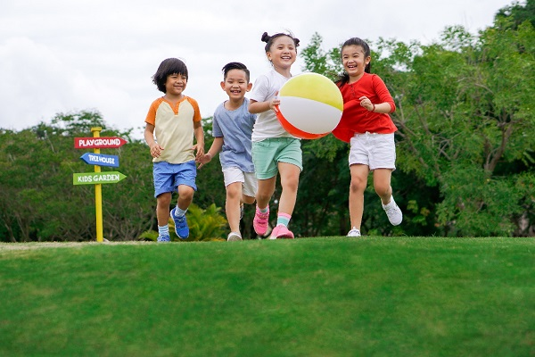 Luật Trẻ em quy định trẻ em có quyền vui chơi, giải trí.