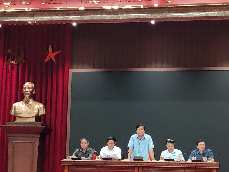 Đồng chí Phạm Thanh Học- Phó trưởng ban Tuyên giáo thành ủy Hà Nội