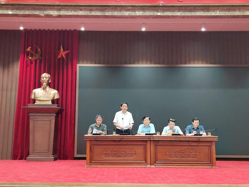 Phó Giám đốc Sở Nông nghiệp và Phát triển nông thôn (NN&PTNT) Nguyễn Ngọc Sơn đã thông tin về công tác phòng, chống thiên tai trên địa bàn TP.Hà Nội năm 2020