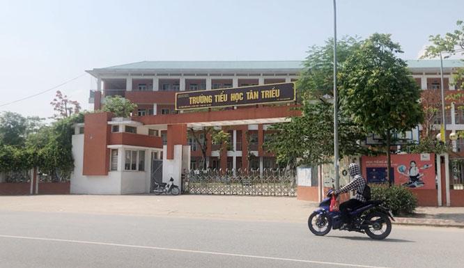 Trường Tiểu học Tân Triều. Ảnh: Internet