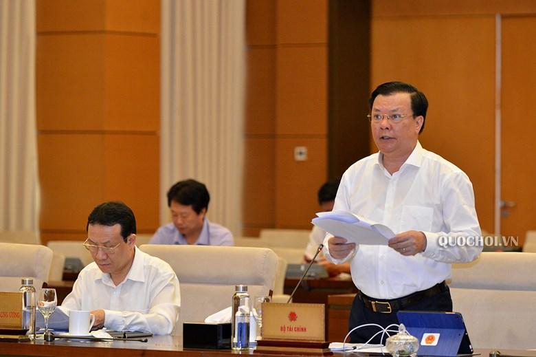 Bộ trưởng Bộ Tài chính Đinh Tiến Dũng.