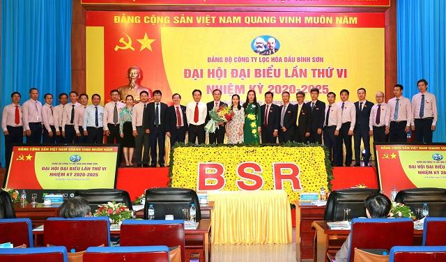 Ban chấp hành Đảng bộ BSR nhiệm kỳ 2020 - 2025 ra mắt Đại hội