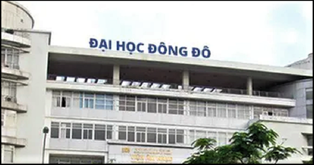 Trường Đại học Đông Đô. Ảnh: DT