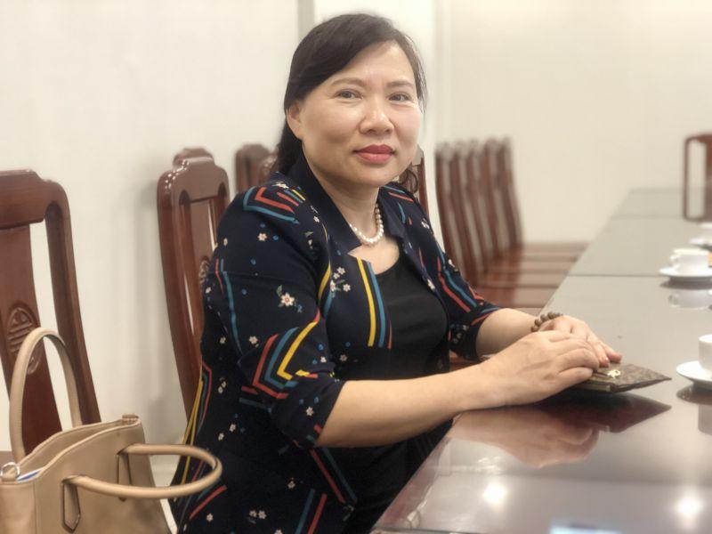 Đồng chí Trần Thị Thu Hường - Trưởng ban Dân vận quận ủy Tây Hồ