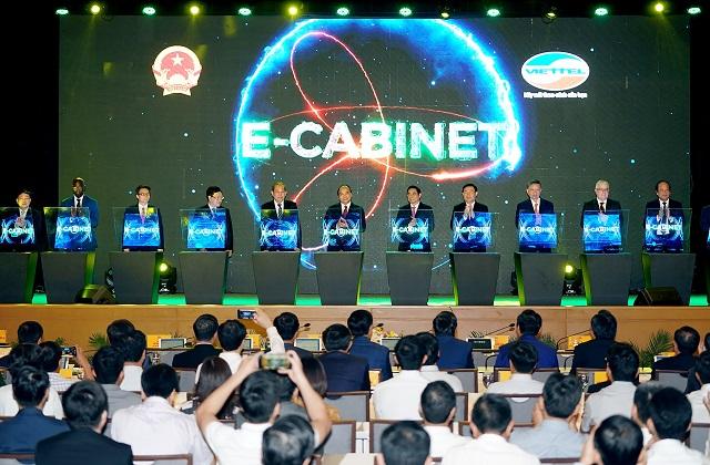 Lễ ra mắt eCabinet.