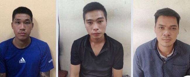 Ba đối tượng trong ổ nhóm chuyên cướp giật, tiêu thụ tài sản do người khác phạm tội mà có đã bị các trinh sát Phòng Cảnh sát hình sự Công an TP Hà Nội bắt giữ