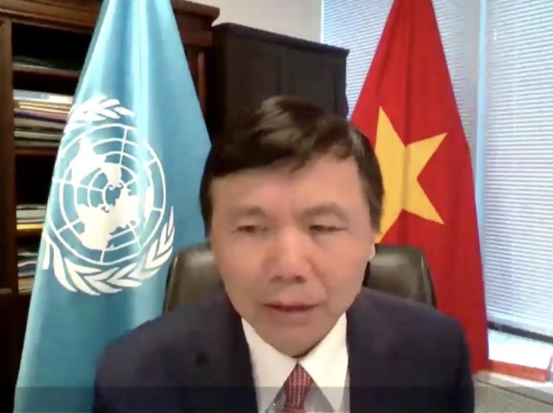 Đại sứ Đặng Đình Quý, Trưởng phái đoàn Việt Nam tại Liên hợp quốc