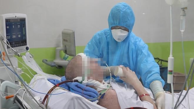 Sức khoẻ BN91 đã có nhiều tiến triển.