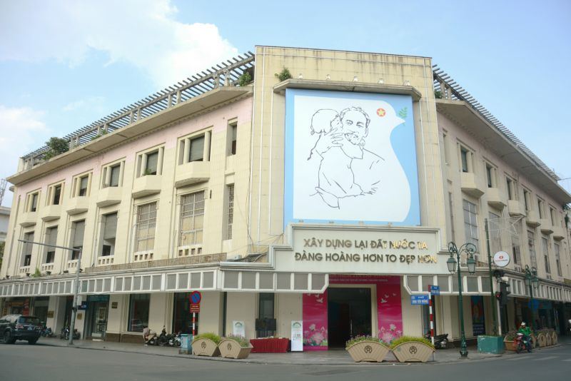 Trung tâm Thông tin Triển lãm, số 93 Đinh Tiên Hoàng, nơi sẽ tổ chức chương trình đưa Di tích Nhà tù Hỏa Lò đến gần hơn với công chúng