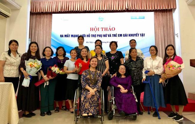 Ra mắt mạng lưới hỗ trợ phụ nữ và trẻ em gái khuyết tật.
