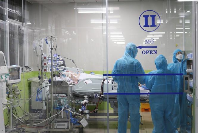 BN91 được chăm sóc tại bệnh biện Chợ Rẫy TPHCM