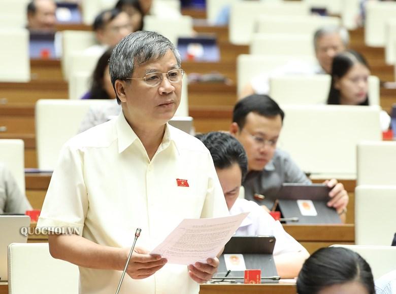 Đại biểu quốc hội Nguyễn Anh Trí bày tỏ