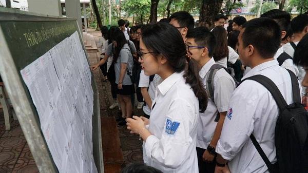 Thí sinh Hà Nội dự thi lớp 10 THPT năm học 2019-2020.