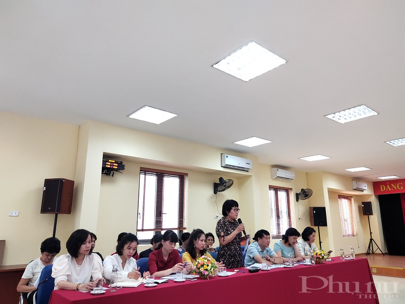 Các đại biểu đều nhất trí công tác cán bộ nữ đạt kết quả  cao đó là nhờ sự quan tâm của Đảng ủy, nhất là người đứng đầu