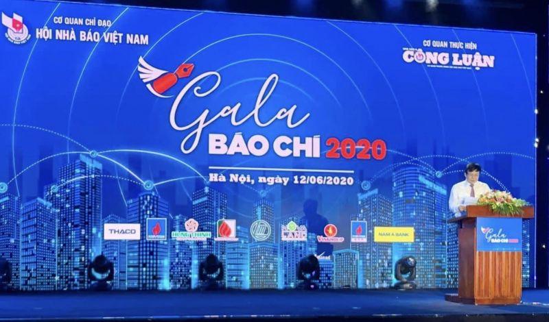 Phó Chủ tịch Thường trực Hội Nhà báo Việt Nam Hồ Quang Lợi phát biểu khai mạc.