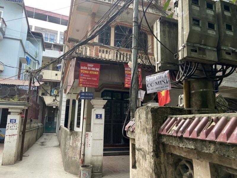 Người lao động đang thuê trọ tại số nhà 6, ngách 36, ngõ 282 Kim Giang (Đại Kim, Hoàng Mai, Hà Nội) không được chủ nhà giảm tiền điện trong tháng 5 theo quy định của Nhà nước
