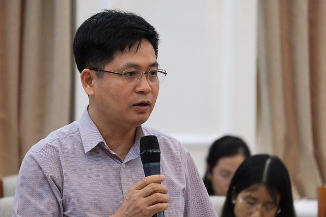 Ông Nguyễn Xuân Thành nói về hệ thống trường chuyên tại họp báo quý II năm 2020 của Bộ Giáo dục và Đào tạo ngày 30/6.
