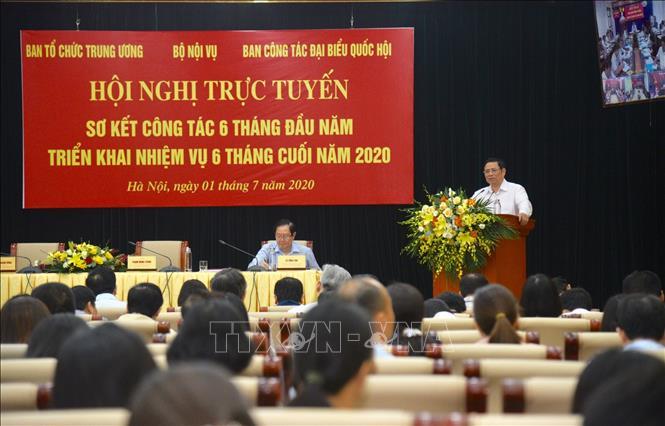 Quang cảnh hội nghị - Ảnh: Diễm Quỳnh/TTXVN