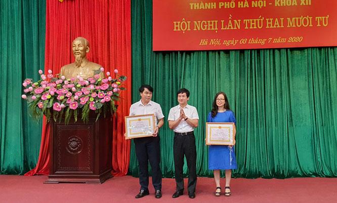 2 tập thể tiêu biểu 5 năm liền (2015-2019) hoàn thành xuất sắc nhiệm vụ nhận Giấy khen.