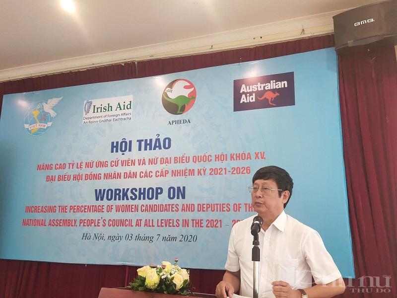 Đồng chí Đỗ Mạnh Hùng, nguyên Phó Chủ nhiệm Ủy ban về các vấn đề xã hội của Quốc hội