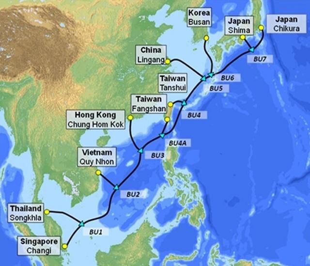 VNPT cùng các Tập đoàn quốc tế đầu tư tuyến cáp quang biển SJC2 dài 10.500km.