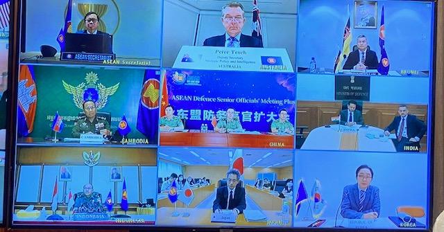 Tham dự hội nghị có Trưởng ADSOM+ 9 nước ASEAN và 8 nước Cộng (Nga, Trung Quốc, Hoa Kỳ, Nhật Bản, Hàn Quốc, Australia, New Zealand, Ấn Độ). Ảnh: VGP/Nhật Nam