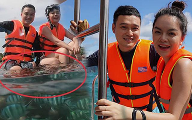 Dư luận lại dậy sóng khi sự việc hai ca sĩ Quang Vinh và Phạm Quỳnh Anh khi làm quảng bá du lịch lại có hành vi xâm hại môi trường.