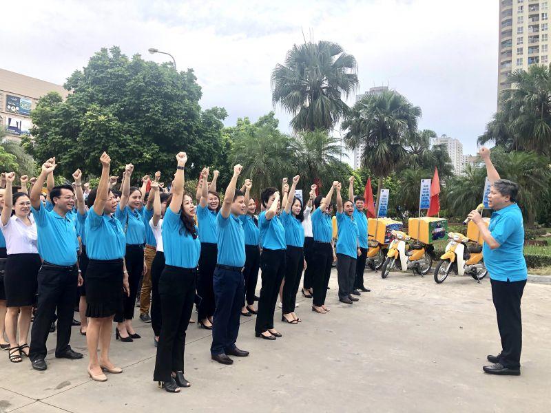 Bảo hiểm xã hội TP Hà Nội thể hiện quyết tâm chung tay cùng cả nước thực hiện bảo hiểm xã hội, bảo hiểm y tế toàn dân