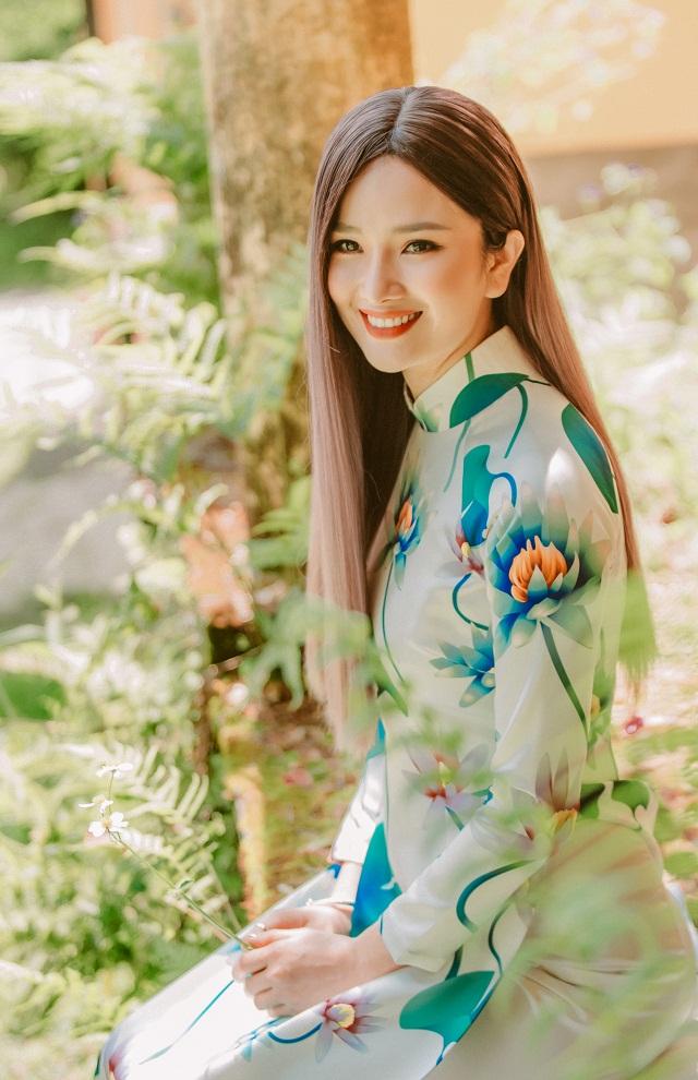Hoa hậu Cao Thùy Dương gây bất ngờ khi xuất hiện trở lại
