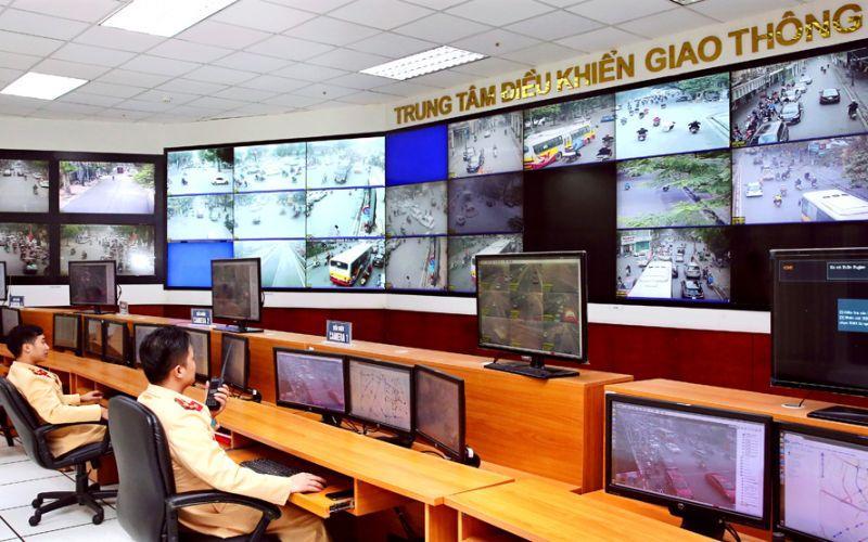 Hoạt động Trung tâm Điều hành giao thông.