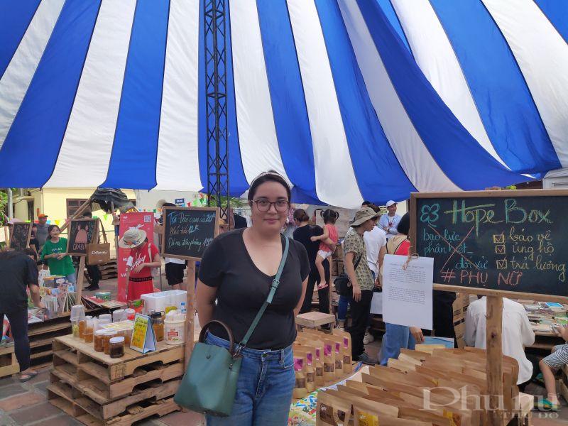 Chị Nguyễn Huệ Phương, Quản lý dự án Think Playgrounds (Nghĩ về sân chơi trong thành phố)