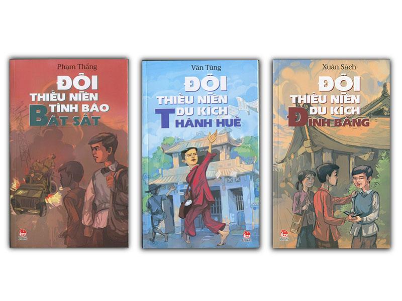 Bộ ba sách về các đội thiếu niên anh hùng
