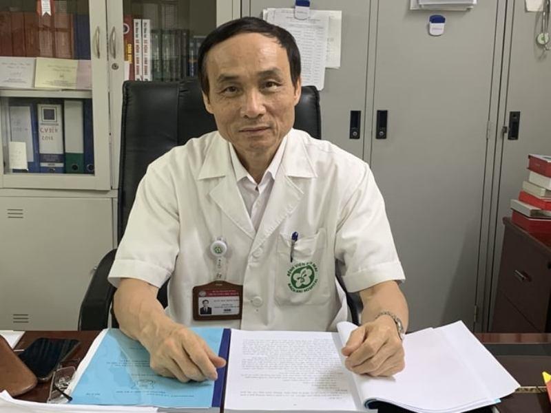 GS.TS Mai Trọng Khoa - nguyên Giám đốc Trung tâm Y học hạt nhân và Ung bướu, nguyên Phó Giám đốc BV Bạch Mai.