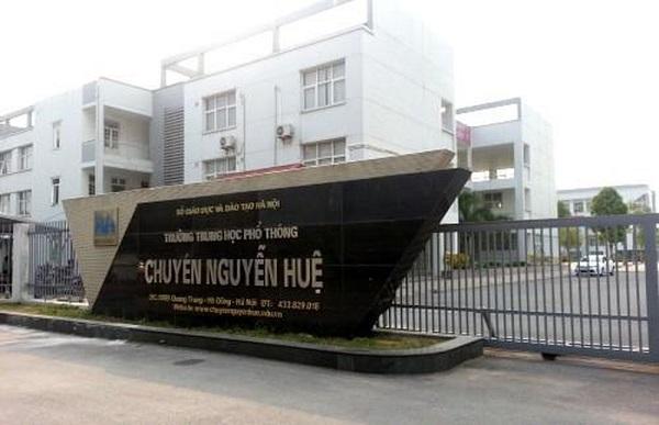 Địa điểm thi trường THPT chuyên Nguyễn Huệ